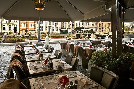 Photo of Restaurant De Graslei in Ghent, , BE