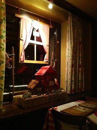 Restaurant Cafe Wolpertinger: интерьер ресторана