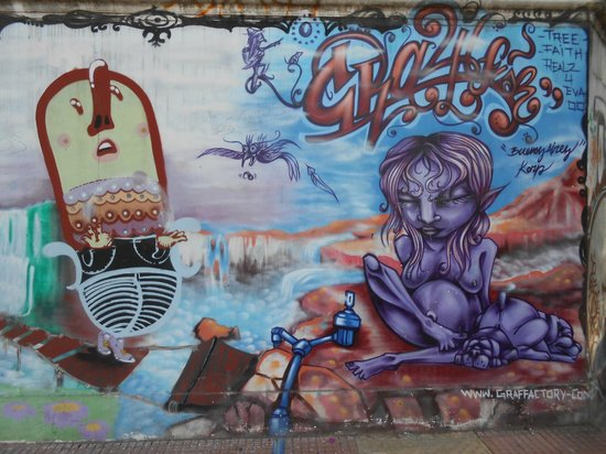 BA Street Art Tours: Street Art