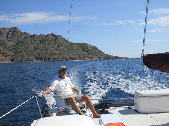 Villa del Palmar Beach Resort & Spa at The Islands of Loreto: Coming back from Danzante Island.