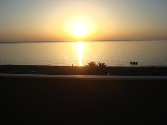 Sol Don Marco : Sunrise from bedroom Terrace