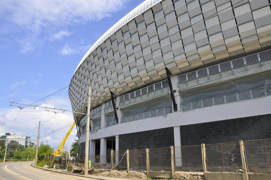 Cluj Arena: Outside view