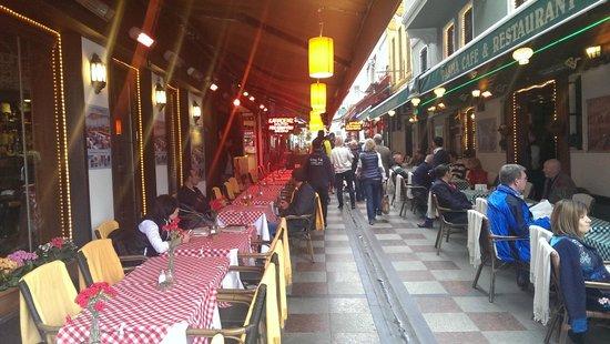 Grand Bazaar (Kapali Carsi): Кафе