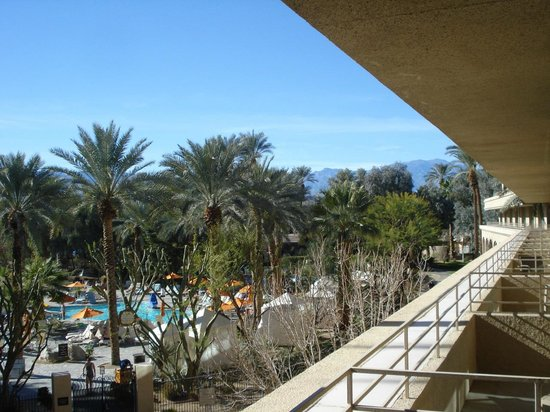 Hyatt Regency Indian Wells Resort & Spa : View from our Room Balcony