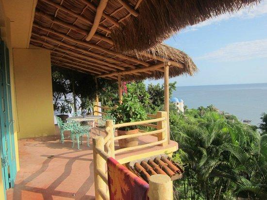 Casa Kukana: The porch