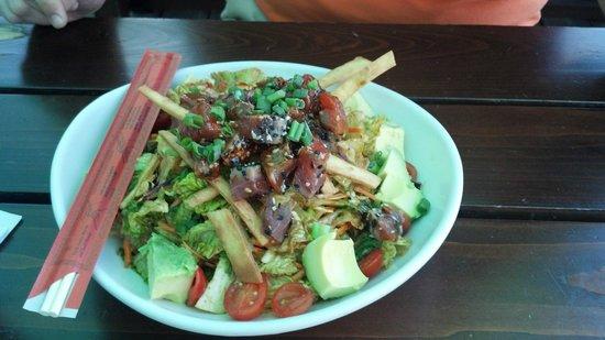 Salt Life Food Shack: Seared Ahi Tuna Salad