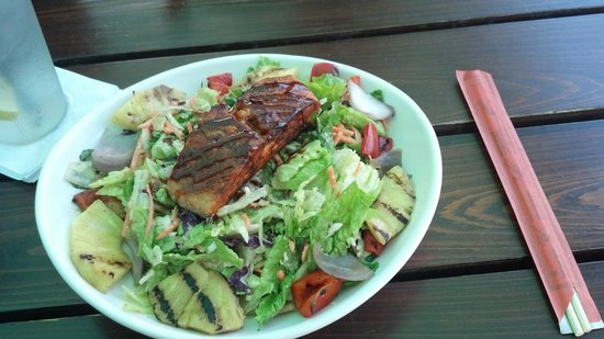 Salt Life Food Shack: Asian Salmon Salad