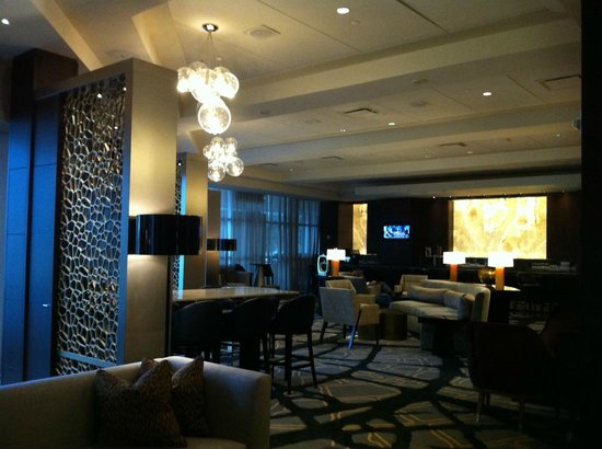 Royal Sonesta Houston Galleria: The Lobby Bar - cool and sophisticated