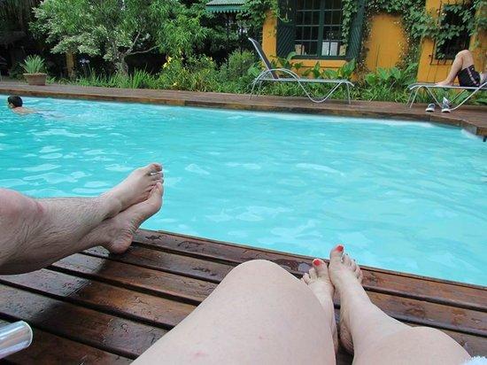 La Soñada: piscina