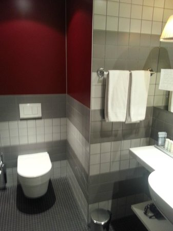 Radisson Blu Hotel, Zurich Airport: Bathroom