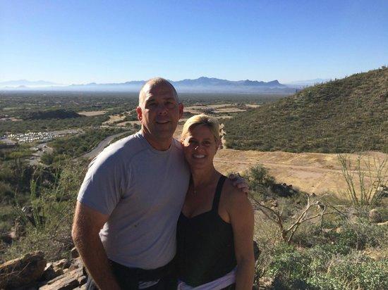 The Ritz-Carlton, Dove Mountain : Hiking views!