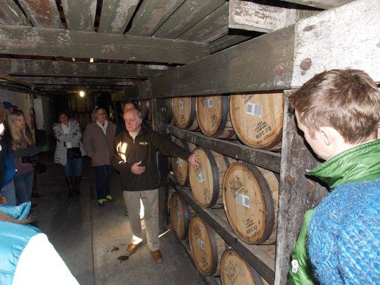 Kentucky Bourbon Trail: Buffalo Trace aging room