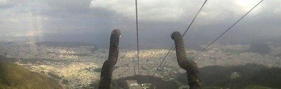 Teleferico Quito: Quito desde el teleferico