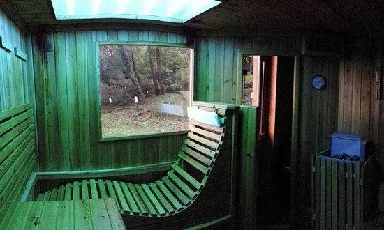 Il Baglio Country Village: Sauna con solarium