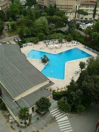 Hotel Terme Internazionale: vista dalla stanza
