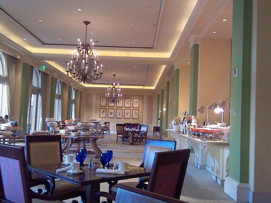 Hilton Lake Las Vegas Resort & Spa: Breakfast Setting