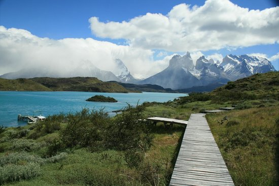 Explora Patagonia - All Inclusive : Wonderful views from the hotel