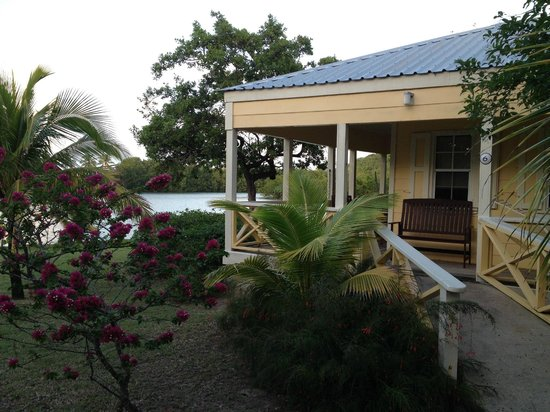 Antigua's Yepton Estate Cottages: Exterior of our cottage