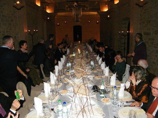 Relais Monastero di San Biagio : Cenone
