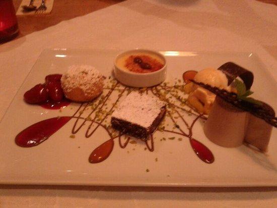 Promenadenhof : Dessertvariationen