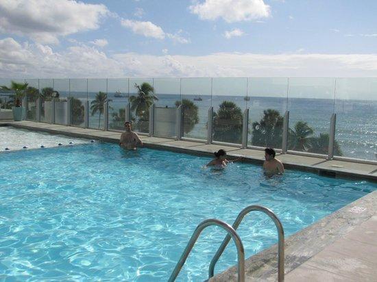 Crowne Plaza Santo Domingo: vista da piscina