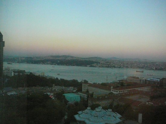 InterContinental Istanbul: 6PM on the Bosphorus