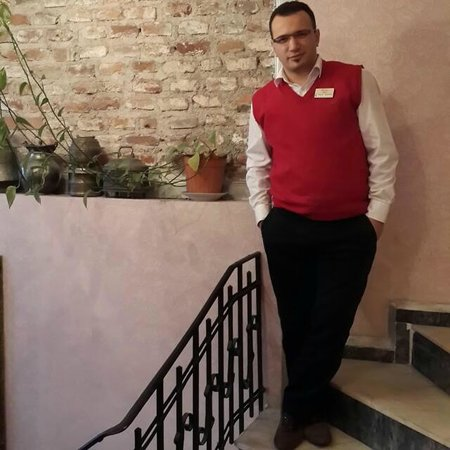 Romantic Hotel Istanbul: Mr. Orhan