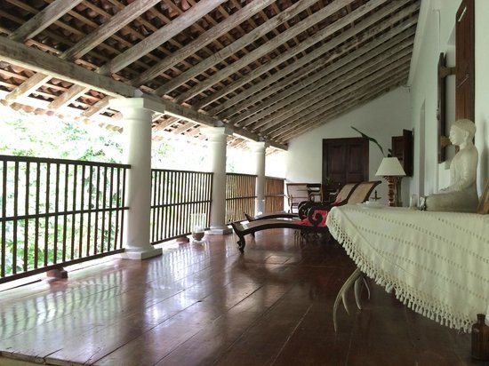 The Kandy House: Balcony area in hotel