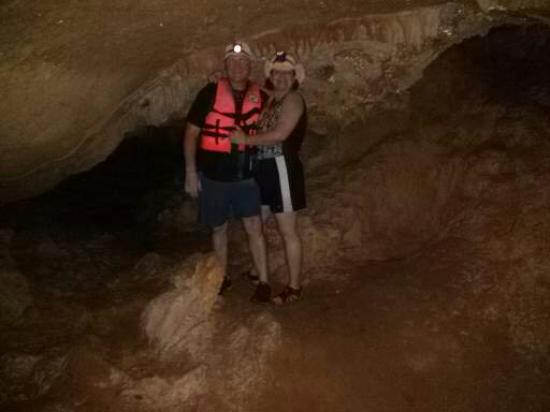 Cave Tubing & Zip Line with Explore Belize Caves: Cave Photo Op