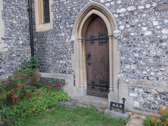 St. Margaret's Church: Church Door