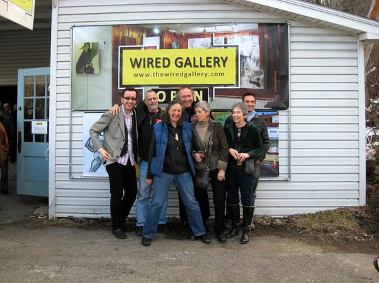 An Opening at Wired Gallery