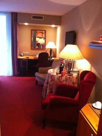 Landgoed Duin & Kruidberg: Riante kamer, 2 verschillende stoelen