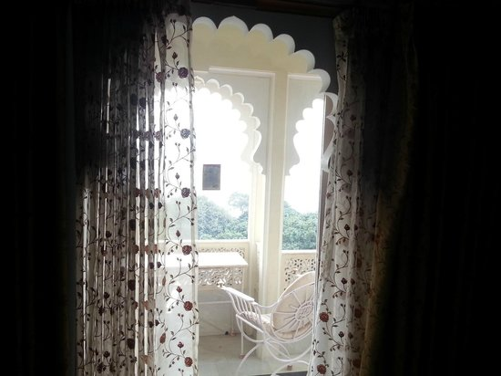 Shiv Niwas Palace: View from our room