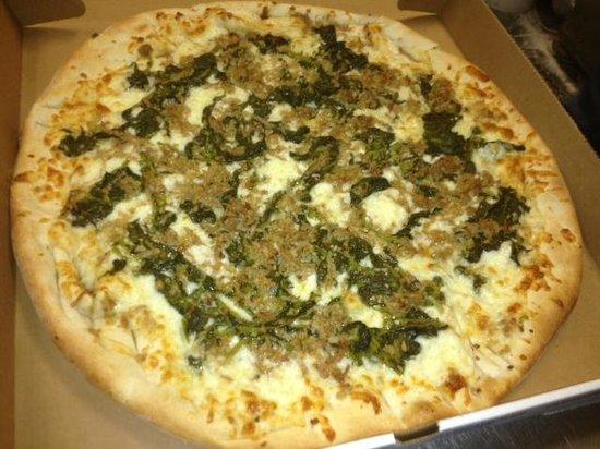 Corsi's Pizza: FAVORITE!!!....Broccoli Rabe and Sausage