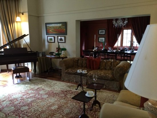 Jetwing Warwick Gardens: Living room