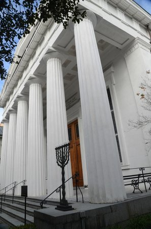 Exterior of Kahal Kadosh Beth Elohim