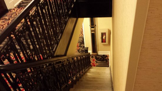 The Algonquin Hotel Times Square, Autograph Collection: Cool Stairwells