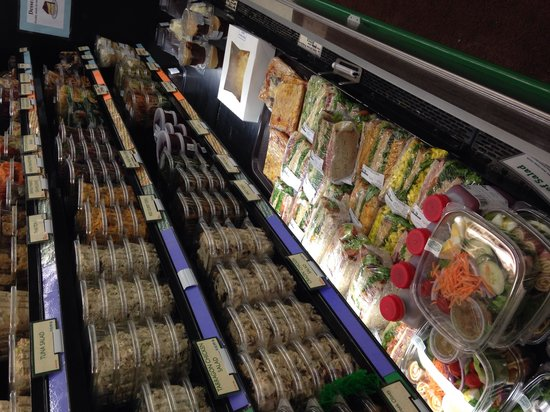Greenfields Market and COOP: Yummy prepared salads