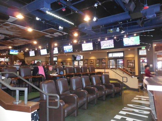 Mannings : Stadium seating