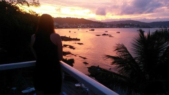 Bombinhas Beach: Sem palavras pra esse por do sol