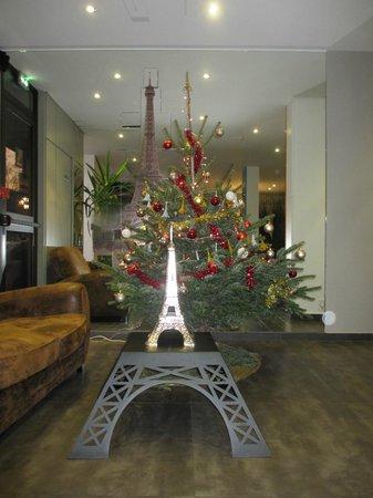 Hotel Alpha Paris Tour Eiffel : Lobby restaurant, only breakfast