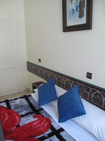 Hotel Tarek: bed