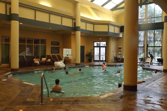 Marriott's Barony Beach Club: Indoor pool