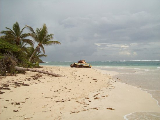 Flamenco Beach: Incongruous