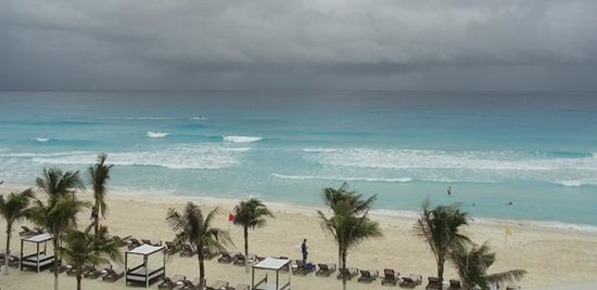NYX Hotel Cancun: Beach only a step away