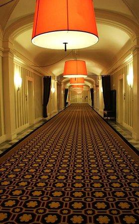 Kimpton Hotel Monaco Washington DC : What a hallway!