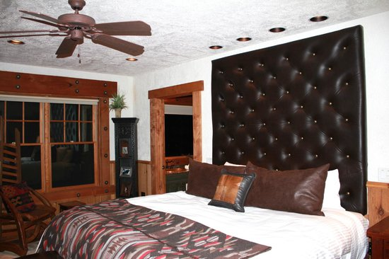 The Resort at Paws Up: master bedroom