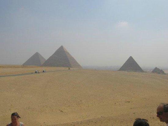 Cheops-Pyramide: le tre piramidi