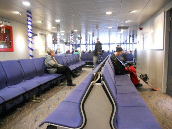 TransLink Seabus: Onboard