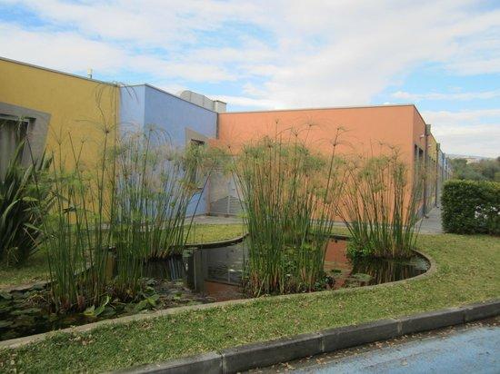 Hotel Ibis Styles Catania Acireale: Esterno con laghetto